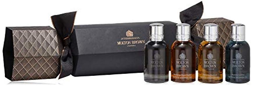 ブートイチゴ財産MOLTON BROWN(モルトンブラウン) アロマティック&ウッディ クラッカー セット 50ml×4本