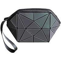 発光バッグライトパッケージ幾何学的バッグクラッチバッグ財布収納袋化粧品袋レディースパック