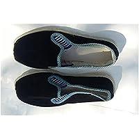 Noマシン生産プロセスのChinese Traditional Craftsハンドメイド布靴、コーデュロイ生地Melaleuca Soles 38ヤード