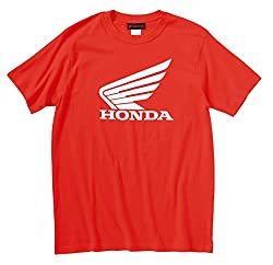 HONDA ( ホンダ ) Tシャツ ウイングTシャツ レッド L 0SYTN-W56-RL