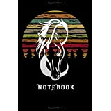 """notebook: funny Lined Notebook / Diary / Journal To Write In 6""""x9"""" horse equestrian for girls"""