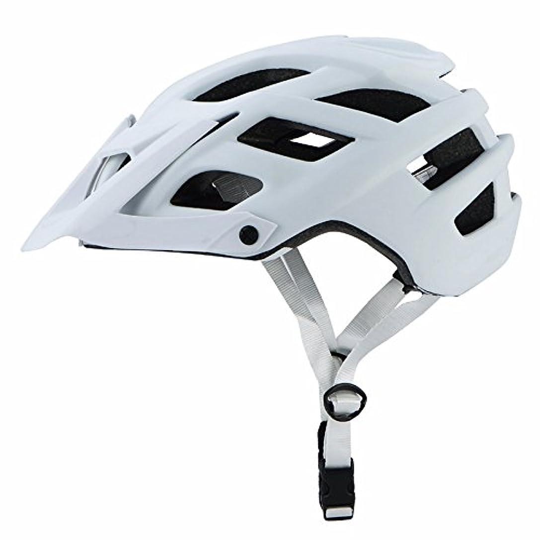 シャンプー徹底急いで自転車ヘルメット マウンテンバイク エクストリームスポーツ 安全ヘルメット スポーツ 超軽量 保護用ヘルメット 白