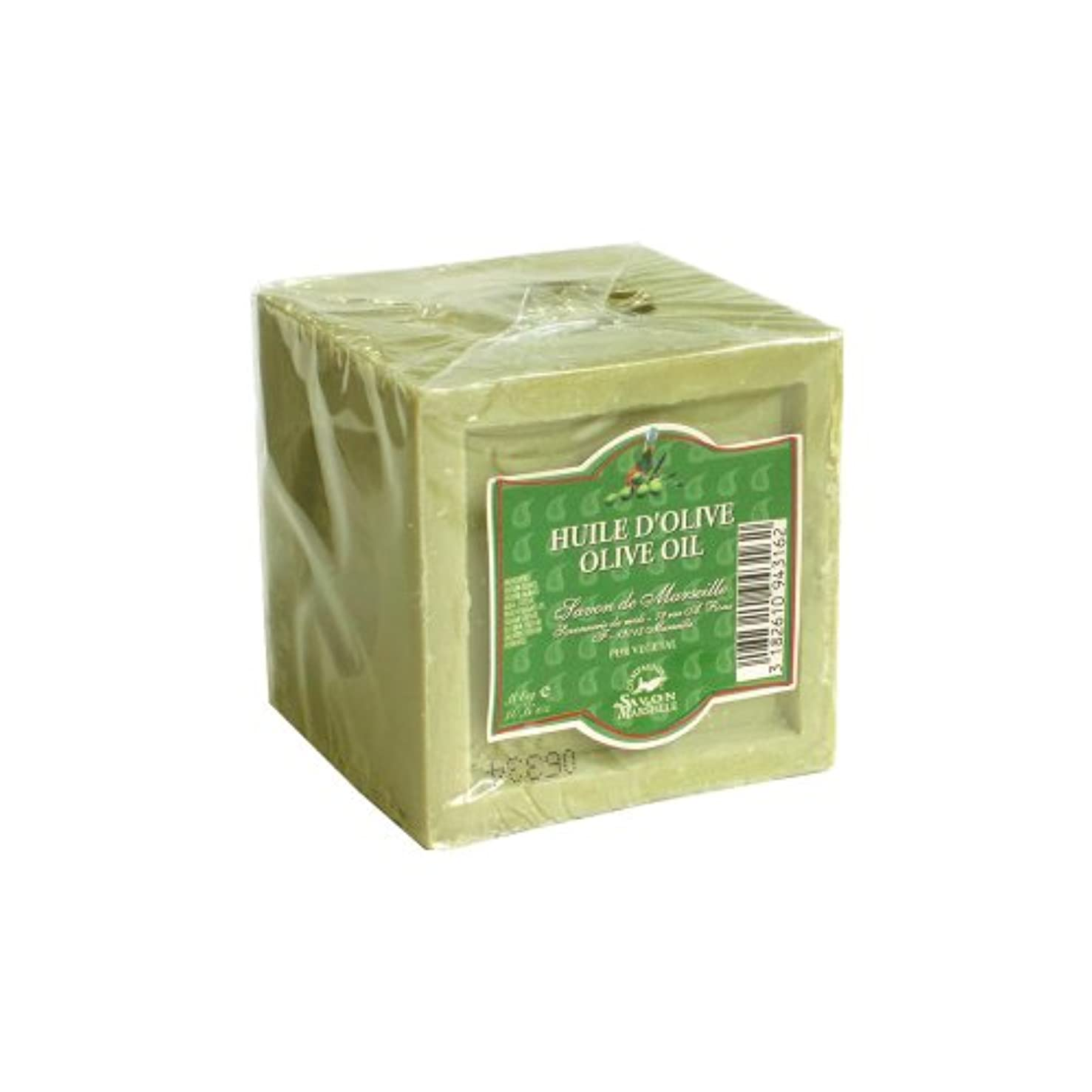 圧力補助金より平らなマルセイユ石鹸 オリーブ300g