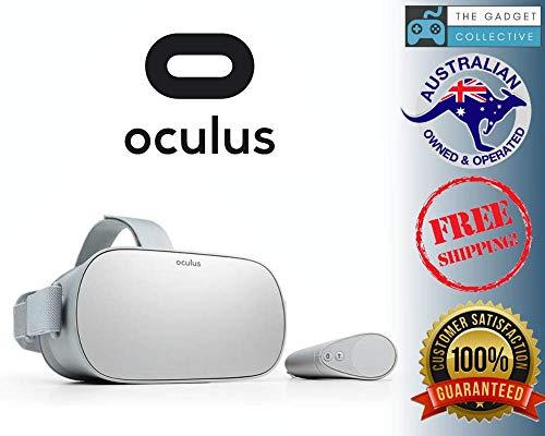 Oculus Go オキュラス 単体型VRヘッドセット スマホPC不要 2560x1440 Snapdragon 821 (64GB) 並行輸入品