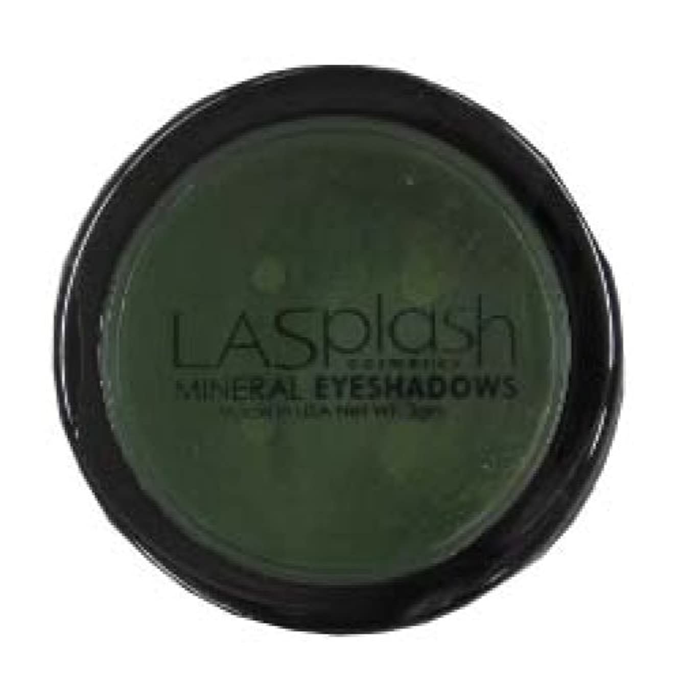 説明有効階LASplash ミネラルアイスパークルアイシャドウグリーン257