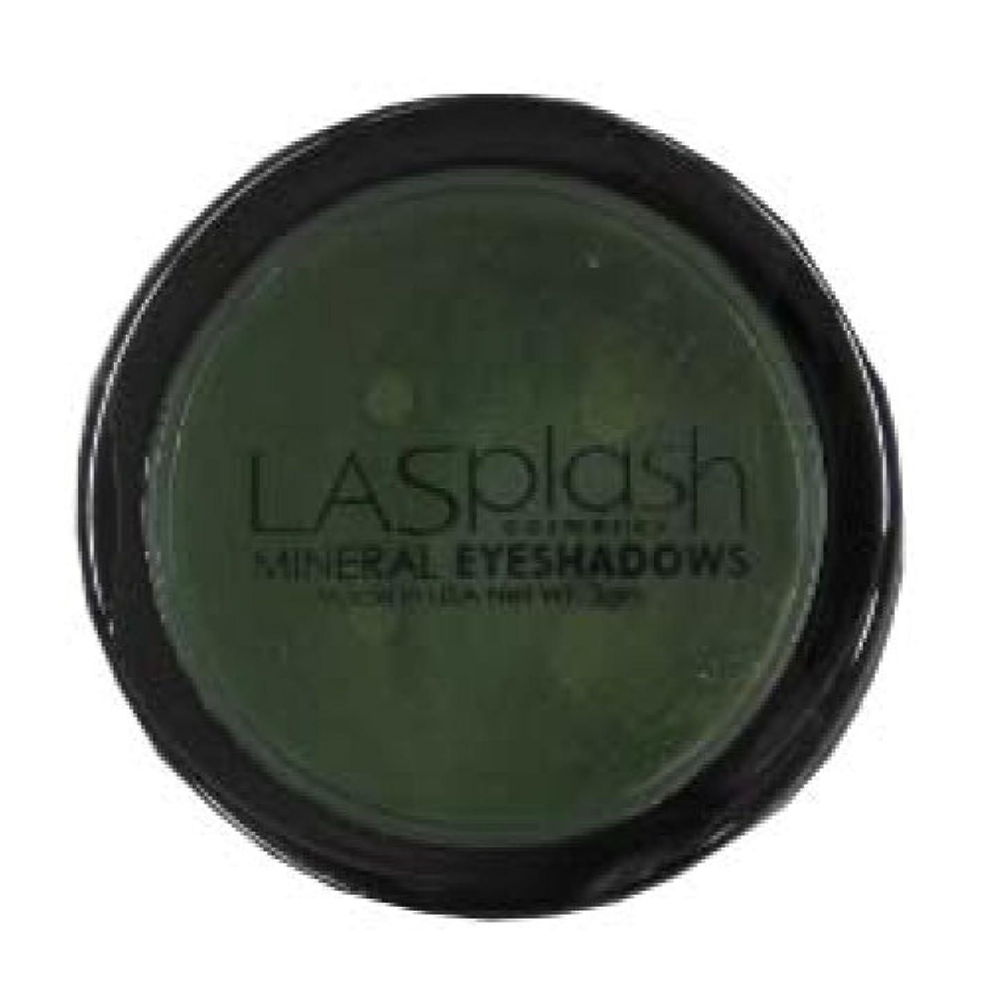 狂乱発明する原因LASplash ミネラルアイスパークルアイシャドウグリーン257