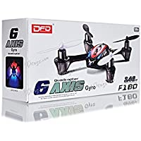 DFD 6 Axis Quadcopter F180 2.4Ghz W/ Anti-Crash Protection Cover by DFD 6 Axis Quadcopter F180 2.4Ghz W/ Anti-Crash Protection Cover [並行輸入品]