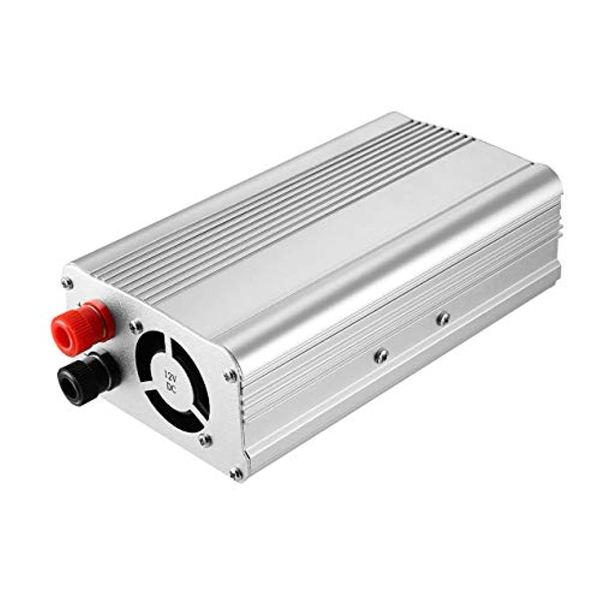 俳句貫通する崇拝するAC 220Vの自動車インバーター携帯用1500W車の電力変換器の専門の自動変圧器車の付属品へのDC 12V(色:銀)