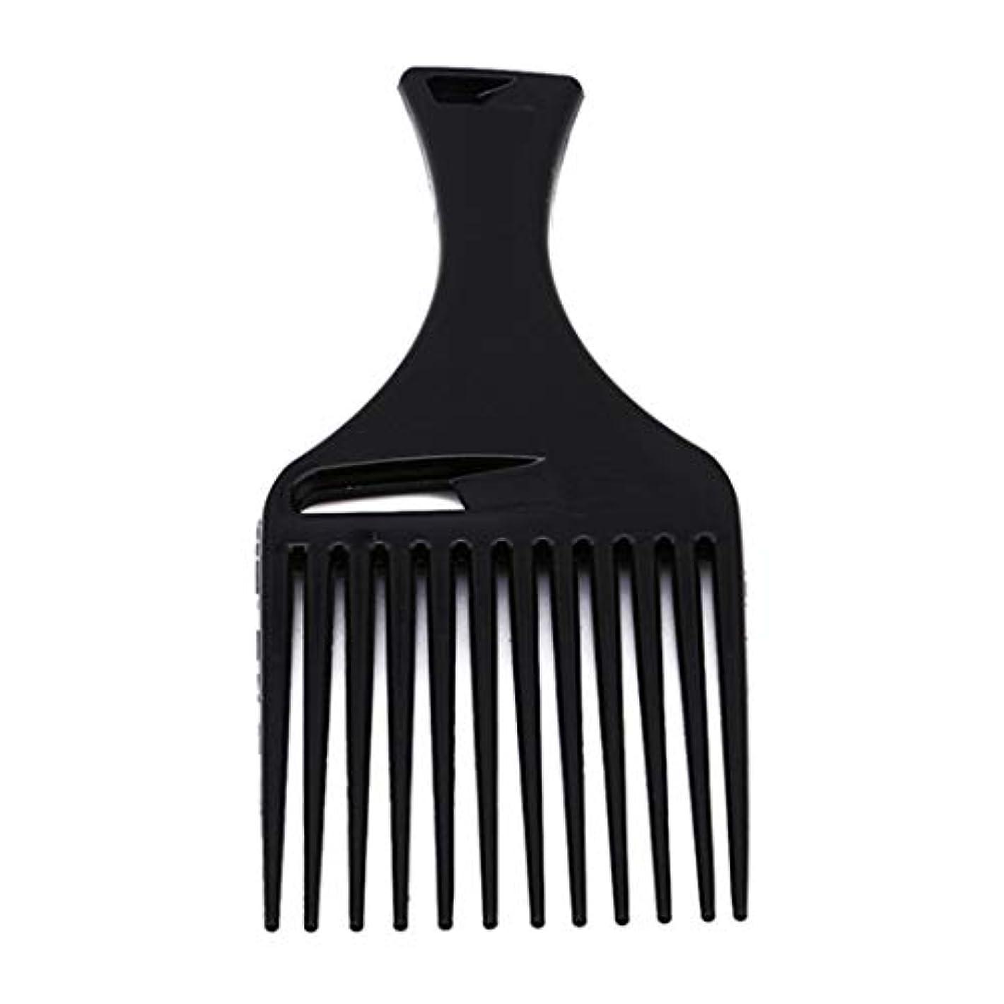 規模他の日どんよりしたUnderleaf 黒い髪の櫛は、男性と女性のためのツールをスタイリングヘアラインヘアスタイルブラシ櫛ヘアブラシを挿入します。