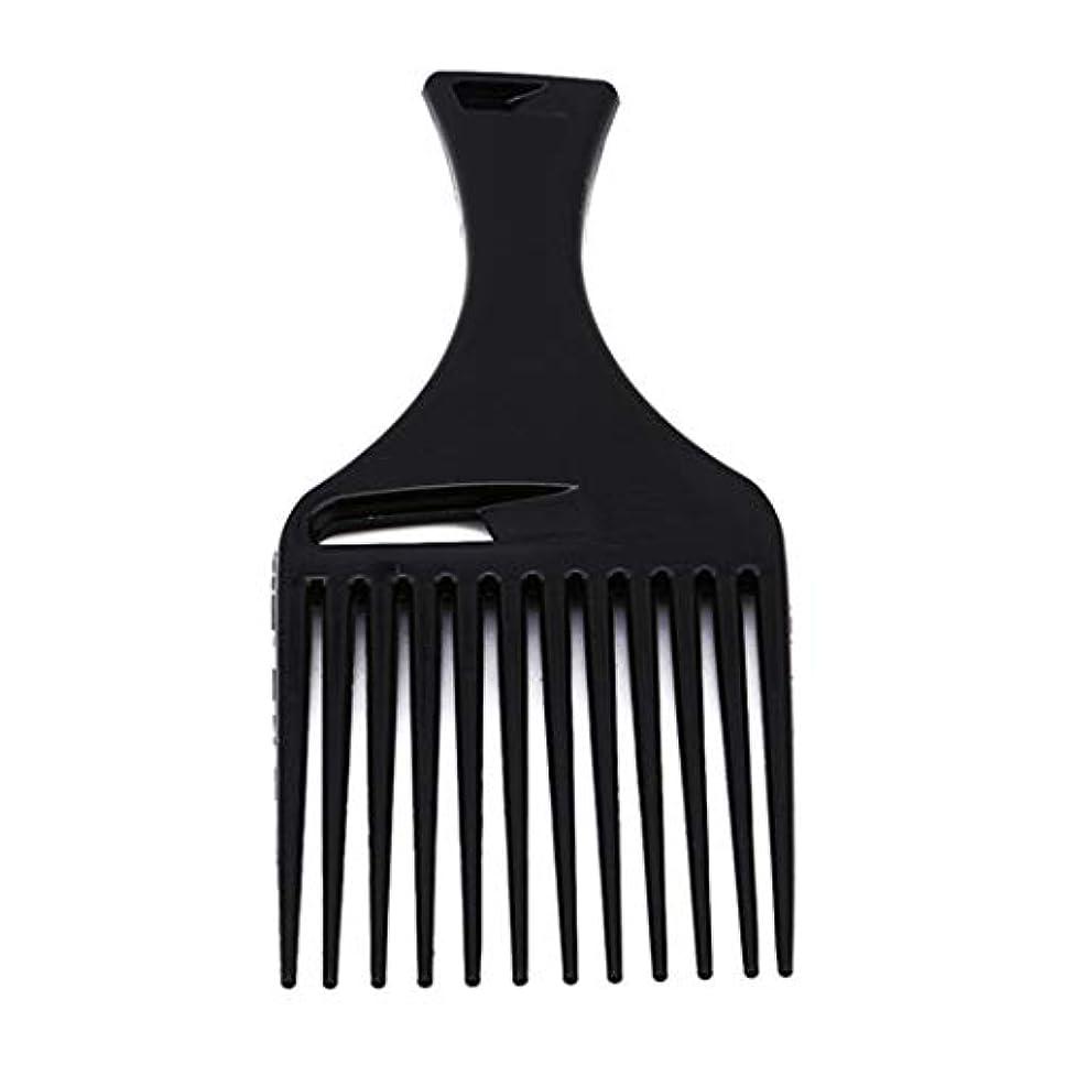 適切な神経障害威するUnderleaf 黒い髪の櫛は、男性と女性のためのツールをスタイリングヘアラインヘアスタイルブラシ櫛ヘアブラシを挿入します。