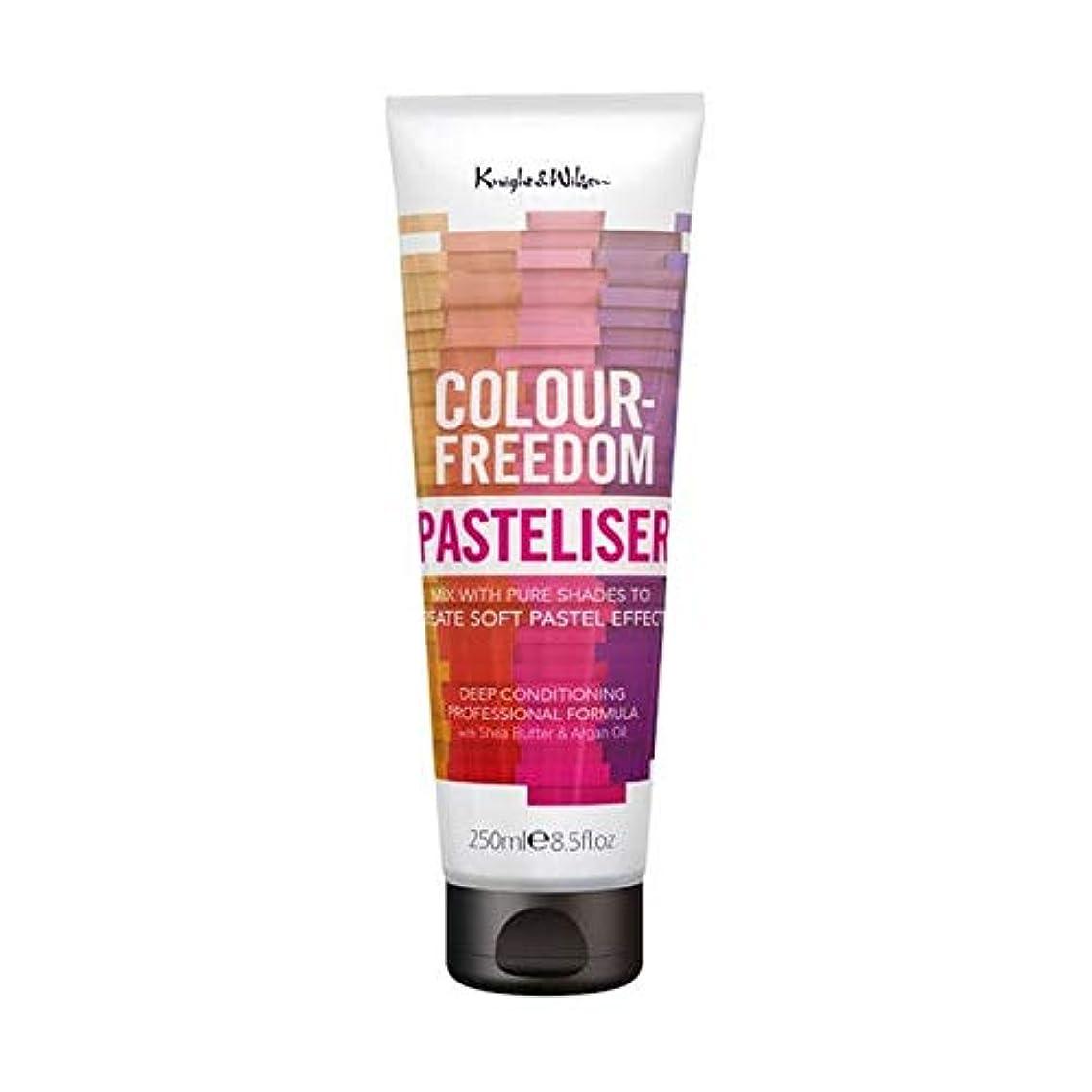 スポーツ農夫港[Colour Freedom ] 250ミリリットルPasteliser色自由 - Colour Freedom Pasteliser 250ml [並行輸入品]