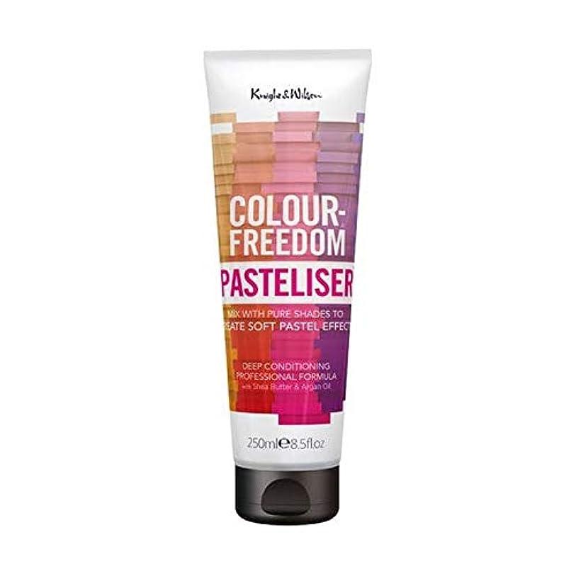 薄いです落ち着かない獣[Colour Freedom ] 250ミリリットルPasteliser色自由 - Colour Freedom Pasteliser 250ml [並行輸入品]