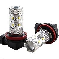【CREE 50W】 MR31S 新型 ハスラー [H26.1~] 50W LED フォグ ランプ H8 【CREE XT-E 採用】 バルブ デイライト スズキ 定番 スタンダードモデル HJO