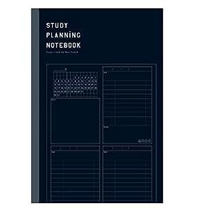 学研ステイフル STUDY STATIONERY ノート 勉強計画ノート B5 ブラック JD04039