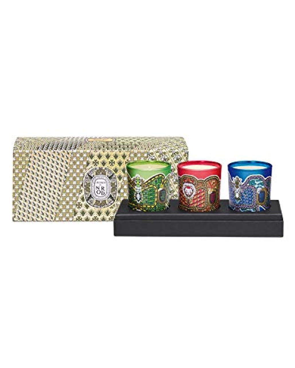 拘束する白雪姫広がりDiptyque Holiday Candle Trio (ディプティック ホリデー キャンドル トリオ) 2.4 oz (72ml) x 3 個 Limited Edition (限定版)
