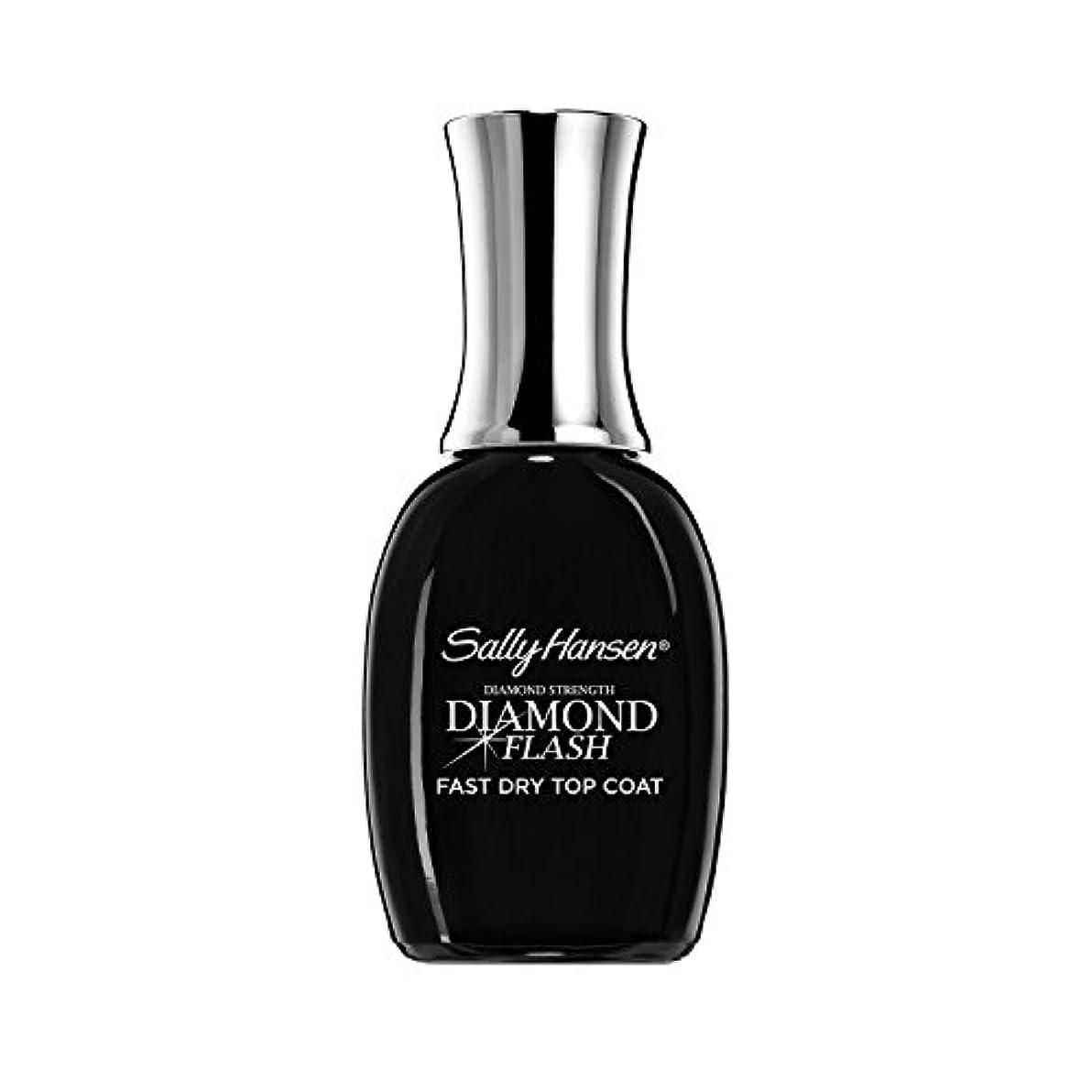 大騒ぎ妖精アシストSally Hansen Diamond Flash Fast Dry Top Coat 14 ml (並行輸入品)