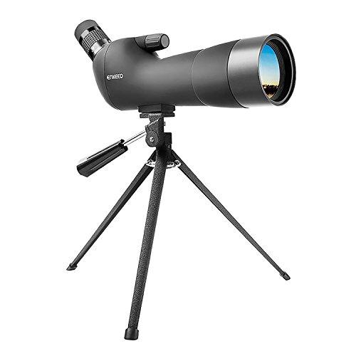 enkeeo フィールドスコープ 20倍-60倍 60口径 光学レンズ BAK-7ポロプリズム 三脚付属 防水防霧 天体観測 野鳥観察 スポーツ観戦など用 20-60X60【メーカー保証】