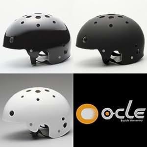 登山用・BMX自転車用ヘルメット(CS4800) (ブラック, L(56~59cm))
