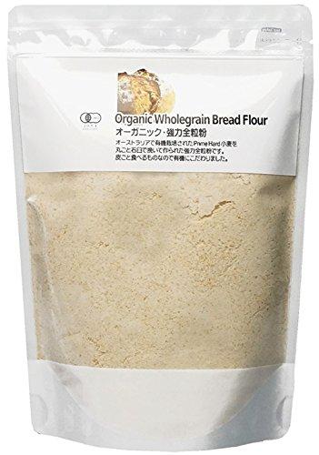 ナチュラルキッチン オーガニック 強力全粒粉(500g)