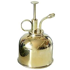 霧吹き スプレーボトル 純銅製 アンティーク調 北欧 スタイル 蓄圧式 スプレー インテリア 園芸 植物 ハウス飾り 300ml