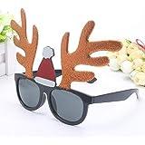 クリスマス メガネ クリスマスグラス コスチューム 変装グッズ 仮装 小物 面白い 眼鏡 クリスマスパーティーなど適用 大人子供適用 hjuns-Wu