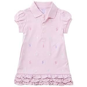Polo Ralph Lauren/ポロ ラルフ ローレン ワンピース (サイズ:18m、カラー:carmel pink) [並行輸入品]