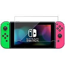 スイッチ 保護フィルム ブルーライトカット ガラスフィルム Nintendo Switch 硬度9H 指紋防止 日本製【 BELLEMOND YP 】スイッチ BL