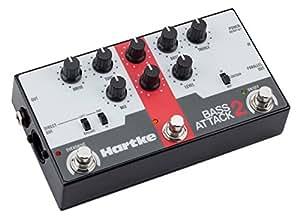 Hartke 「BASS ATTACK2」ベース用プリアンプ & DIボックス & オーバードライブ 【国内正規品】