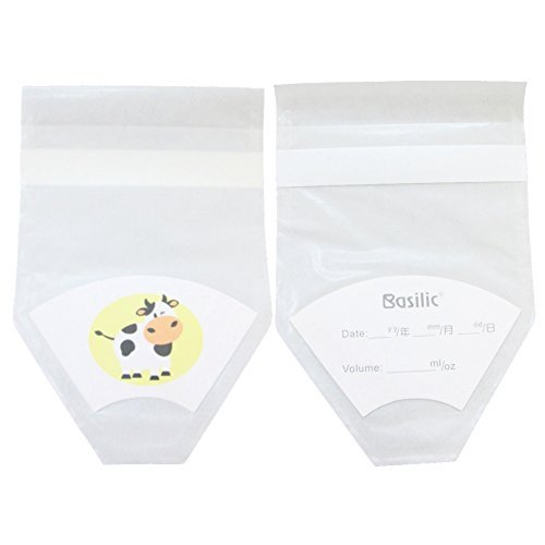 Basilic Disposable Baby Formula Milk Powder Pouch bag Container Dispenser - 24pcs