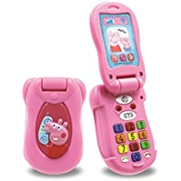 Peppa's Peppa Pig Little Phone Pink Flip & Learn Mobile