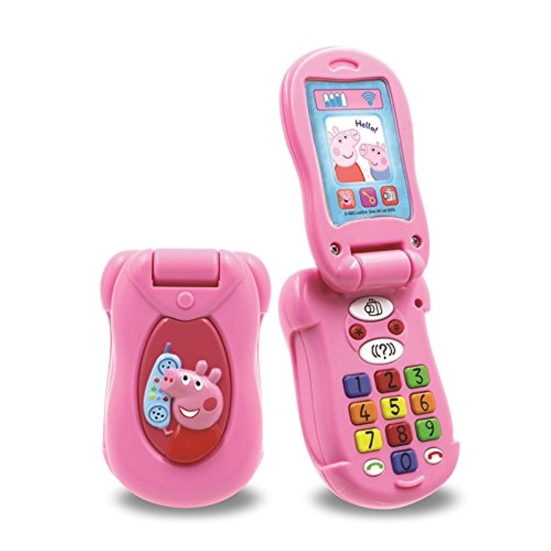 Peppa's Peppa Pig Little Phone Pink Flip & Learn Mobile