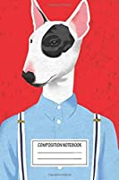 """Notebook: Skinhead Bull Terrier , Journal for Writing, Size 6"""" x 9"""", 164 Pages"""