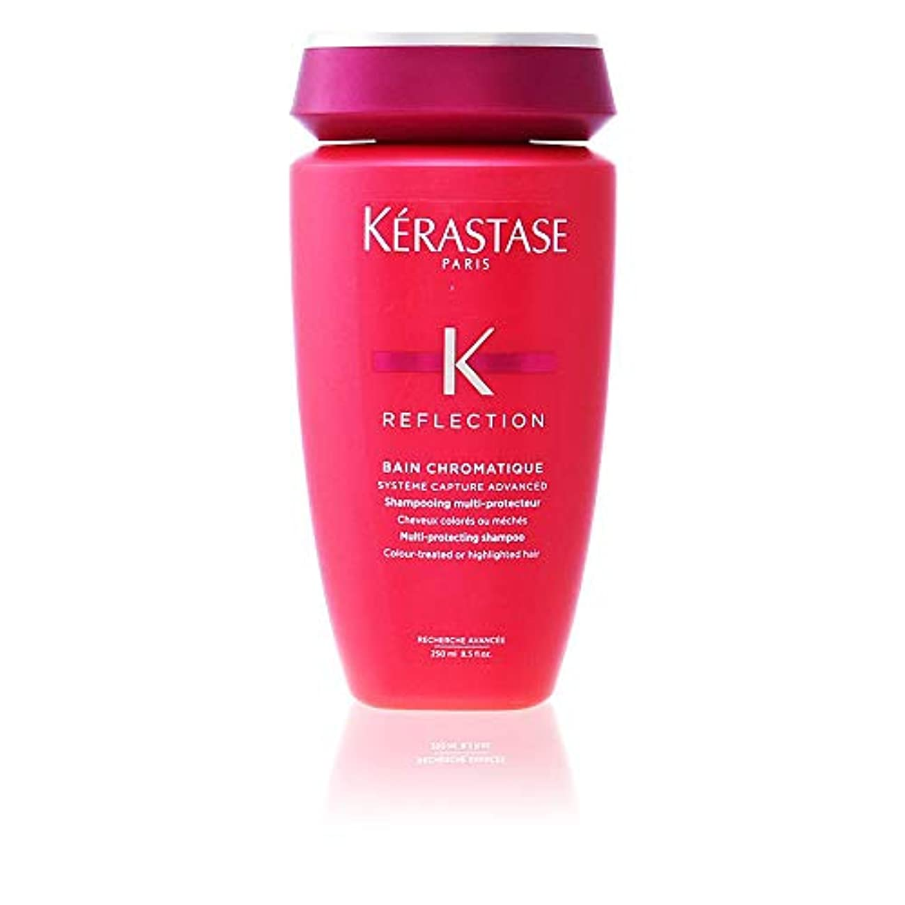 ダース置き場染料ケラスターゼ Reflection Bain Chromatique Multi-Protecting Shampoo (Colour-Treated or Highlighted Hair) 250ml/8.5oz並行輸入品