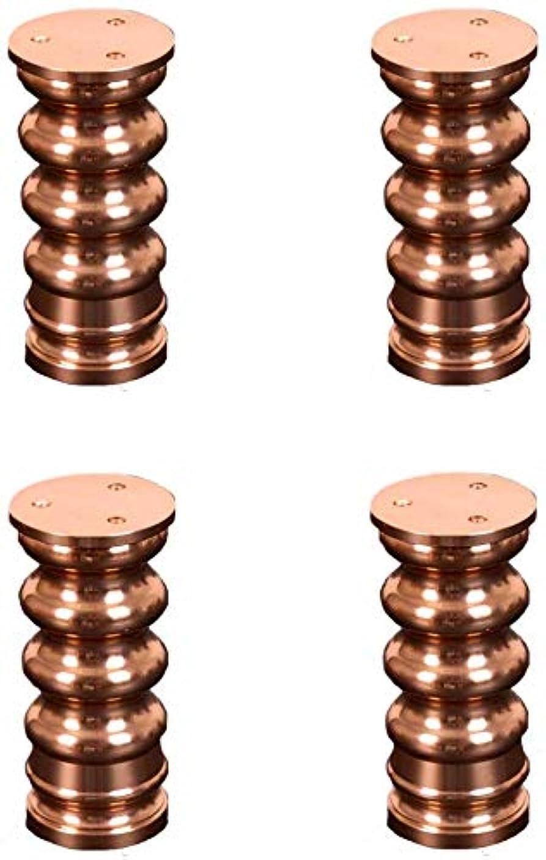 肥料飛ぶマンハッタンFurniture support feet floor protector Thick aluminum alloy adjustable Heavy cabinet foot TV cabinet furniture foot 4Pcs, aluminum red All Finishes