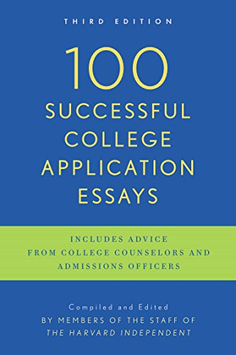 Download 100 Successful College Application Essays: Third Edition 0451417615