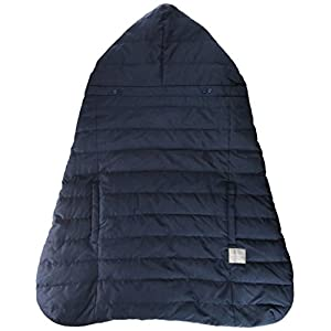 ベビーホッパー(BABYHOPPER) ダウン90% 抱っこひも 防寒 カバー エルゴ ウインターマルチプルダウンカバー/ネイビー ベビーカーでも使える CKBH04013