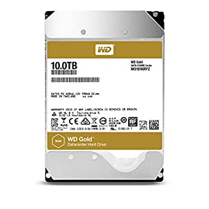 WD HDD 内蔵ハードディスク 3.5インチ 10TB WD Gold WD101KRYZ SATA3.0 7200rpm 256MB 5年保証