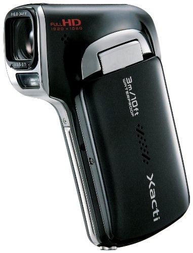 SANYO デジタルムービーカメラ Xacti CA100 K ブラック DMX-CA100(K)