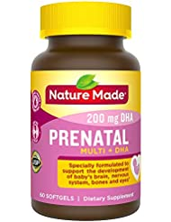 Nature Made® - Prenatal Multi + DHA - 60 ??????? 海外直送品