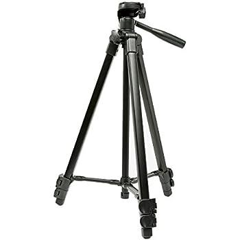 Eienn カメラ三脚 3段 小型 3Way雲台 アルミ製 クイックシュー式 軽量 コンパクト キャリングバッグ付き