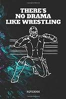 "Notebook: Wrestling Sport Sumo Training Planner / Organizer / Lined Notebook (6"" x 9"")"