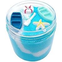Wffo Slime マッド ふわふわのフローム スライム ストレス解消玩具 アナナ 香り付き スラッジトイ ギフト Wffo - toy