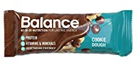 Balance Barテつョ Cookie Dough, 1.76 ounce bars, 6 count by BALANCE Bar