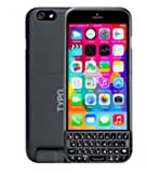 Typo2 Keyboard Case iPhone6 アイフォン6用バッテリー付きキーボードケース【並行輸入品】Black(ブラック)