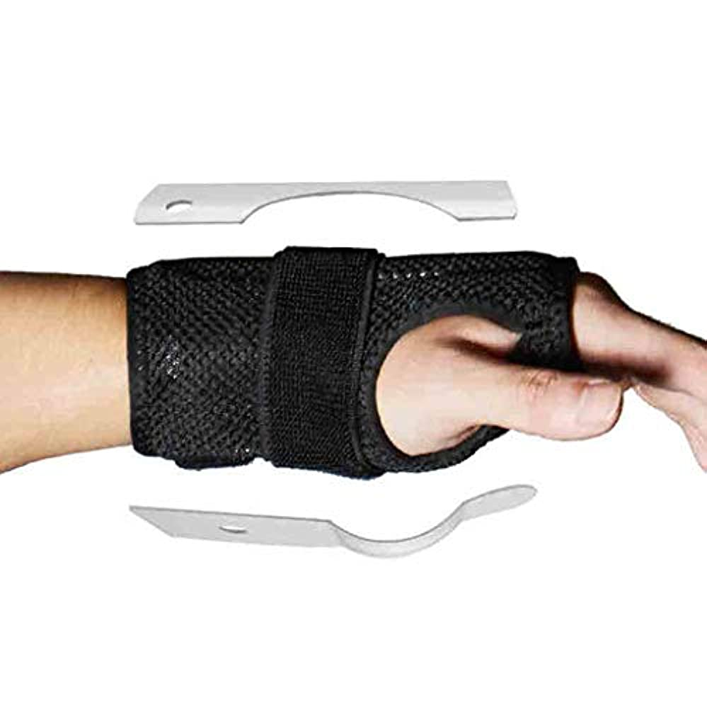 見落とす理解するドリルトリガーのための親指のスプリント親指の通気性のファブリック手首の親指腱鞘炎脳手根管症候群のためのリストバンドスプリントママの親指ブレース関節炎 Roscloud@
