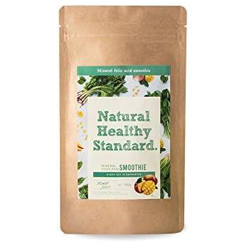 Natural Healthy Standard ミネラル 葉酸スムージー マンゴー味 160g