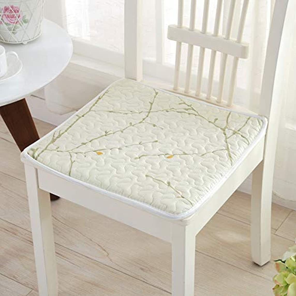 淡いコック化石LIFE 現代スーパーソフト椅子クッション非スリップシートクッションマットソファホームデコレーションバッククッションチェアパッド 40*40/45*45/50*50 センチメートル クッション 椅子