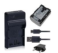 NinoLite 3点セット BN-VG107 / BN-VG108 互換 バッテリー +USB型 充電器 +海外用交換プラグ 、日本 ビクター JVC 対応 dc96bnvg107_t.k.gai