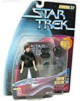 """EDITH KEELER Star Trek: The Original Series Warp Factor Series 3 Action Figure from the Episode """"The City on the Edge of"""
