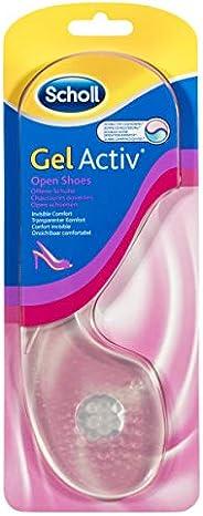 Scholl Gel Activ Insoles for Women Open Heels Shoe Cushioning and Comfort